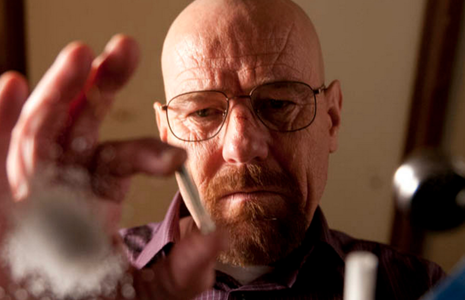 Fragmento de la serie 'Breaking Bad'